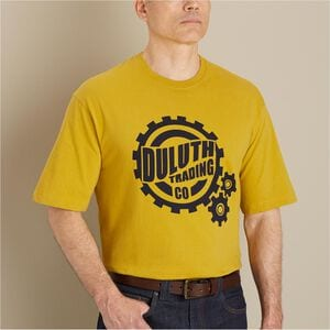 Men's Longtail T Relaxed Fit Duluth Gear Logo T-Shirt