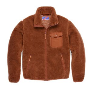 Best Made Men's Wool Fleece Full Zip Jacket
