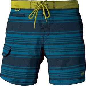 "Men's DuluthFlex Bull Moose 9"" Printed Board Shorts"