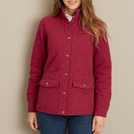 Women's Cortland Quilted Jacket ROYLRED SM