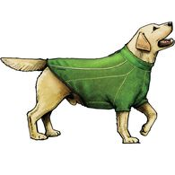 Ruffwear Fernie Fleece Dog Jacket GREEN MED