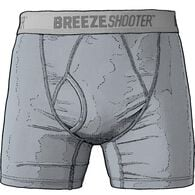 Men's Breezeshooter Short Boxer Briefs CSTLFOG MED