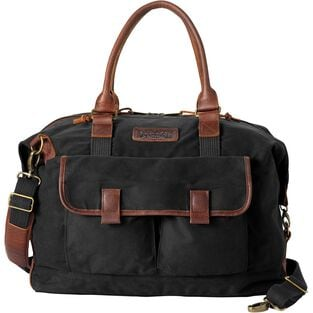 Oil Cloth Weekender Bag BLACK