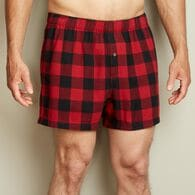 Men's Free Swingin' Flannel Boxers BCRBUFC 2XL