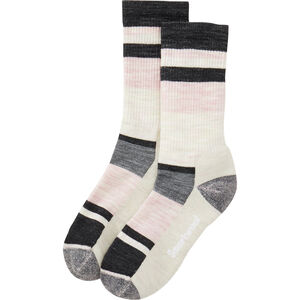 Women's Smartwool Hike Light Striped Crew Socks