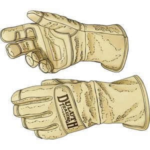 Men's Fence Mender's Kevlar Gauntlet Gloves