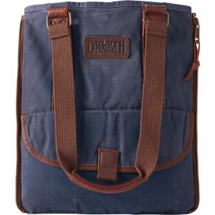 Women's Oil Cloth Day Tote Bag DKNAVY