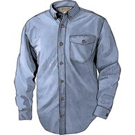 Men's Iron Mountain Oxford Long Sleeve Solid VINTB