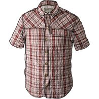 Men's Armachillo Short Sleeve Pattern Shirt RED EA