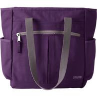 Women's Canvas Travel Tote Bag BLKBERY