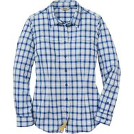 Women's No Fly Zone Button Up Shirt SAPHPLD MED