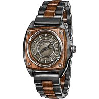 Retro Wood Watch BROWN