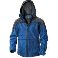 Men's Shoreman's Fleece Grid-Lock Hooded Jacket PT
