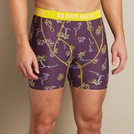 Men's Buck Naked Pattern Boxer Briefs NNLGHTP SM