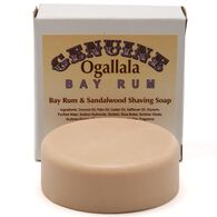 Bay Rum and Sandalwood Shave Soap