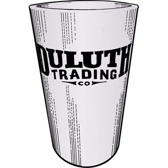 Duluth Trading Silicone Pint Glass TRANSLT