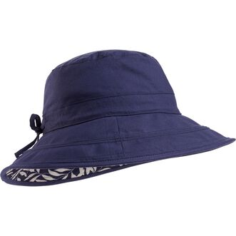 6c3edff9877 Women s Reversible Print Bucket Hat NVYLEAF S M Women s Reversible Print Bucket  Hat NVYLEAF ...