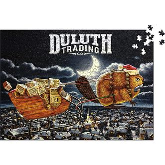 Duluth Your Yule 1,000 Pieces Puzzle