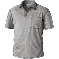 Men's Pressure Cooker Polo with Pocket GRAYHEA MED