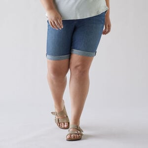 Women's Plus DuluthFlex Daily Denim Bermuda Shorts