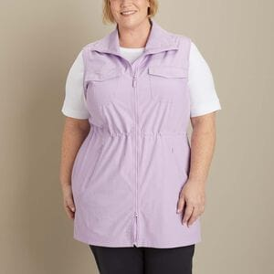 Women's Plus Sol Survivor Sun Protection Tunic Vest