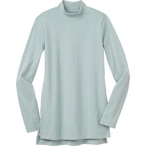 Women's Blue Ridge Mock Neck Tunic T-Shirt