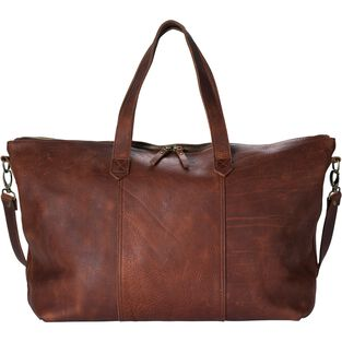 f31d594ea Lifetime Leather Travel Duffle Bag | Duluth Trading Company