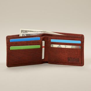 Men's Bison Bi-Fold Wallet