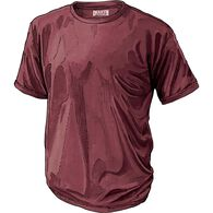 2300604be759 Men's Longtail T Short Sleeve T-Shirt BURGNDY MED