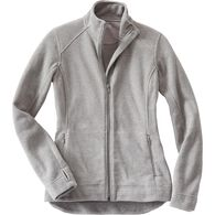 Women's Frost Lake Fleece Full Zip Jacket GRAYHEA