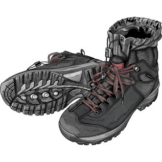Men's Jackpine Insulated Hiker Boots
