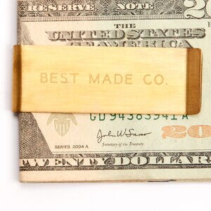 Best Made Brass Money Clip