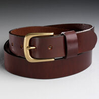 Men's Everyday Leather Work Belt BROWN 034