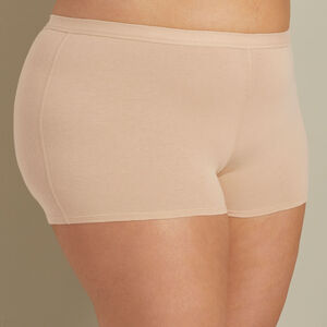 Women's Plus Free Range Organic Cotton Boyshort