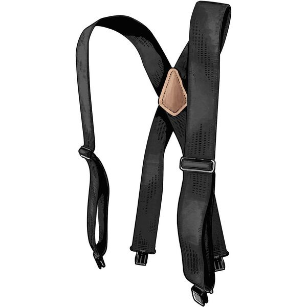 Men's Duluth Trading Tall Clip Suspenders BLACK