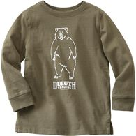 Kids Longtail T Long Sleeve T-Shirt VOLBEAR 3T