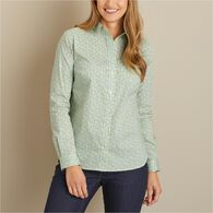 Women's Wrinklefighter Button Up Shirt PLUMSTP XSM
