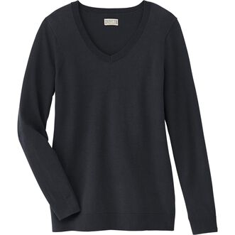 2823d9a2 Women's Shiftless V-Neck Sweater | Duluth Trading Company