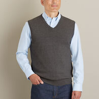 Men's Strongarm Cotton Sweater Vest MONTGRN MED RE