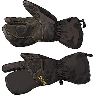 Men's Insulated Soft Shell Mitts BLACK LRG