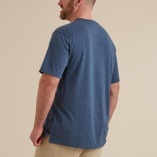 Men's Dry on the Fly Crew T-Shirt with Pocket