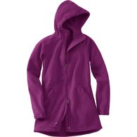 Women's Shoreline Fleece Windproof Parka RICPLUM M