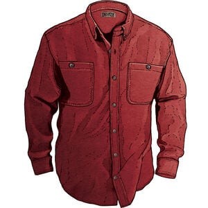 Men's Free Swingin' Solid Flannel Relaxed Fit Shirt