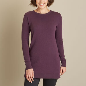 Women's S'no Sweat Crewneck Tunic Sweater