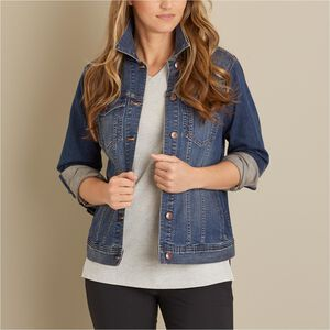 Women's Daily Denim Jacket