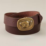 Men's Duluth Trading Fan Gear Belt BEAVER 040