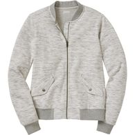 Women's Deux More Double Knit  Bomber Jacket PTYGR