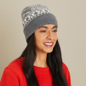 Women's Logo Fair Isle Knit Hat