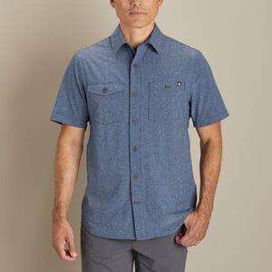 Men's AKHG Bush Pilot Standard Fit Short Sleeve Shirt