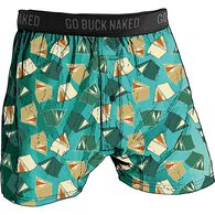 Men's Buck Naked Performance Pattern Boxers PTCHTN